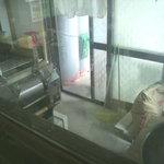 沖縄そば 薫風 - 店内にある製麺場