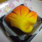 菊月 - 上生菓子 紅葉