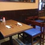 あさひ町スタンド - テーブル席