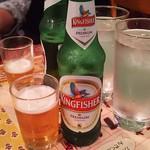 RAJU - キングフィッシャー(軽めのビール)