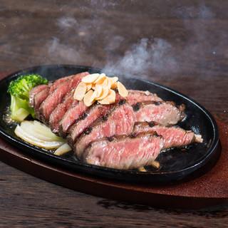 世界三大牛『アンガス牛』ステーキ