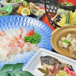 食べ飲み放題は《3,500円~》!鮮魚たっぷりでコスパも◎