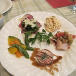 一汁三菜イタリア~の shark - 肉と野菜の5品盛り合わせ