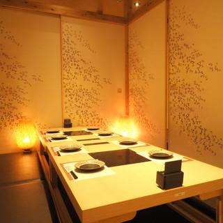 ◆個室のご案内◆少人数様からご利用可能な完全個室