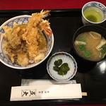 神田 五大 - 大海老天丼800円