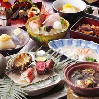 【創業300年】今が旬『京料理』の逸品を味わえる