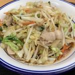 大衆食堂 みどりや商店 - 野菜炒め定食