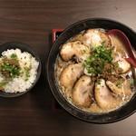 97808514 - 肉味噌小丼・味噌ラーメン