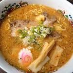 麺屋 天晴れ魂 - 「ぶた味噌」ラーメン700円