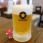 97810212 - 生ビール ¥480