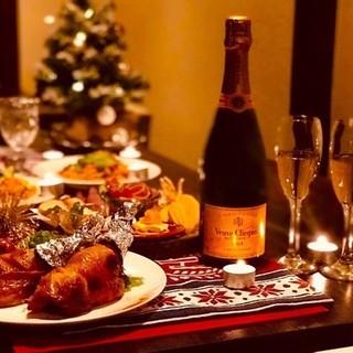 【12/23~25限定】クリスマスコースご予約受付中◎