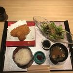 香家 - 三元豚とんかつ御膳(1200円)
