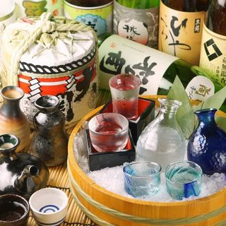 地酒・日本酒の種類が豊富