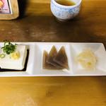 鳥扇 - 定食の前菜