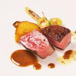 ビストロ エン - アニバーサルコースの肉料理