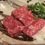 肉家 串八 - 上ハラミ
