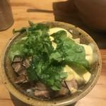 麺場 浜虎 - 玉マヨ鶏めし