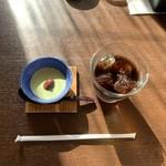 小鮎 - デザートとドリンク