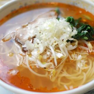 シセン - 料理写真:酸辣麺