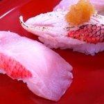 回転寿司 おかべ屋 - 金目鯛づくし(地金目、炙り金目)