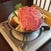 和牛処 やまだいら - 料理写真:すき焼き定食(2000円)のすき焼き