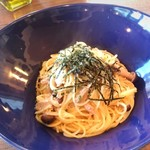 Cafe & Trattoria Copain - ランチ さんまと生姜の和風パスタ
