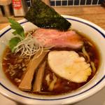 手打式超多加水麺 ののくら - 中華そば(醤油)(750円)