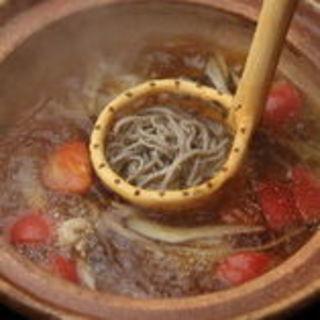 おすすめ鴨トマト鍋