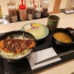 松のや - 料理写真:味噌かつ丼