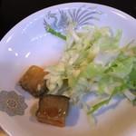 盛苑 - 豆腐の塩漬け