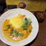 SPICY CURRY 魯珈 - 牡蛎柿カレー+麻辣湯咖喱スープ