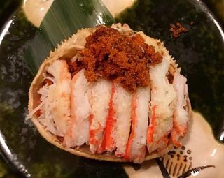 地酒と地魚あらた - 香箱蟹 2000円
