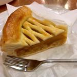 神田 白十字 - アップルパイのアップ