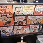 """七代目けいすけ - 食べ方マンガ""""七代目けいすけくん""""!"""