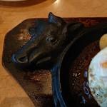 フォルクス - 牛の顔が可愛くて印象的。