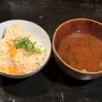 多味庵 - 鮭といくらのはらこ飯&海鮮出汁たっぷりの荒汁