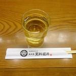 総本家更科堀井 - そば茶
