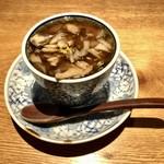 97844603 - 白子と舞茸の茶碗蒸し1