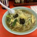 木蘭 - 野菜ラーメン800円