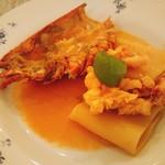 ダ ジェンナリーノ - 料理写真:オマール海老のパッケリ