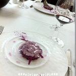 9785362 - 紫キャベツを使用したお料理。見た目も味も上品です。