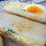 うさぎぱん - 料理写真:たまごトーストサンド170円