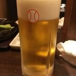旨めぇもん屋 きゅう - ビール