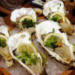 魚屋 うきうきらんらん 三鷹 - 生牡蠣(時価)