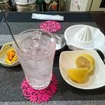 酉の市 - 生レモンサワー