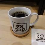 マメココロ - ブレンドホットコーヒー250円