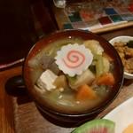タケウチ - 具がたっぷり栄養お味噌汁♪
