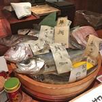 97855071 - メニュー(本日の魚)