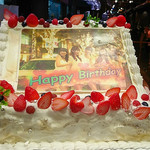 スコール - 特大誕生日ケーキ