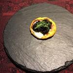 97859972 - 安納芋のパンケーキとキャビア